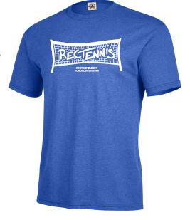 RecTennis T-Shirt – Royal Blue