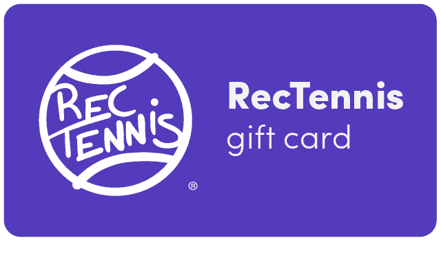 RecTennis E-Gift Card