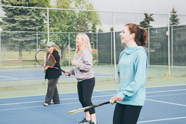 tennis family activities Pacific Northwest